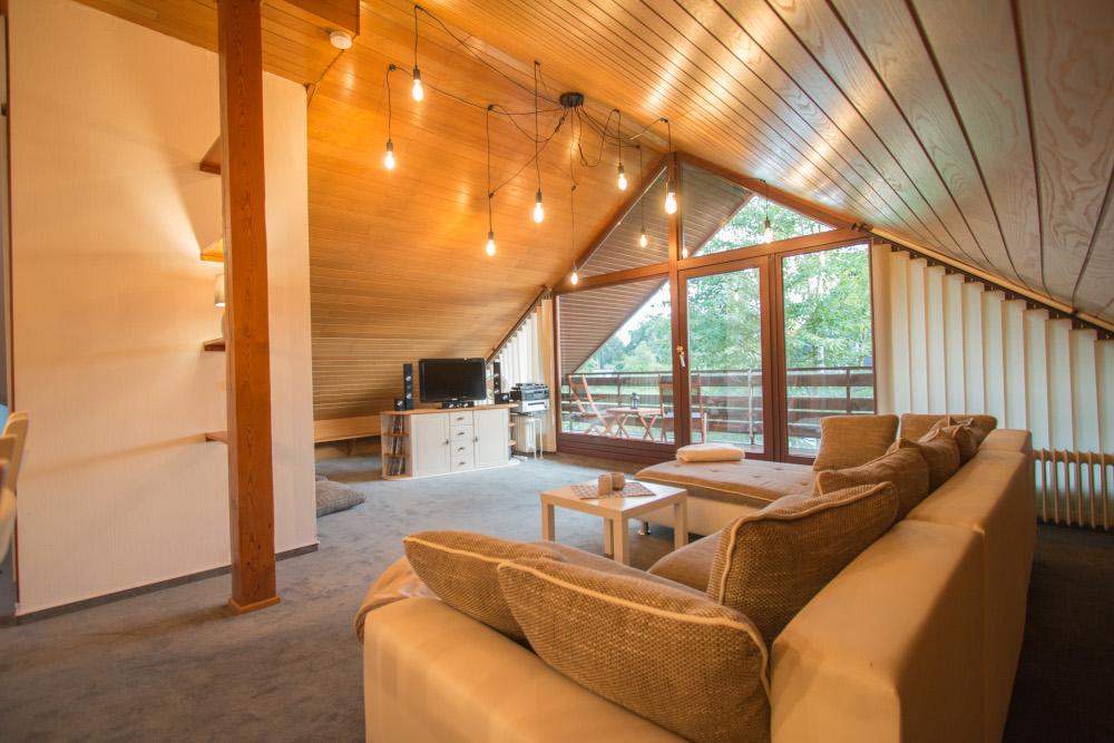 Ferienwohnung Segeberger See - Wohnzimmer
